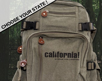 Choose Your State Small Backpack