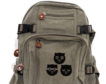 Three Musketeers Watson the Cat - Backpack