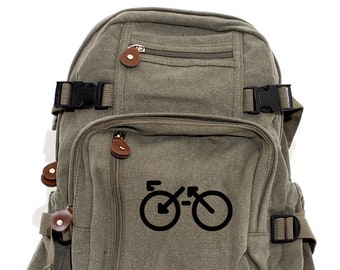 Bike - Lightweight Canvas Backpack