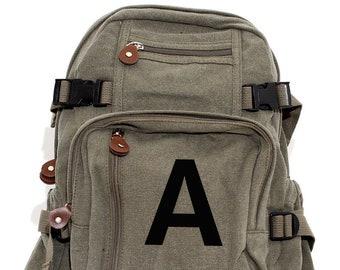 Personalized Backpack, Monogrammed Backpack, Backpack, Backpack Kids, Canvas Backpack, Small Backpack, School Backpack, Backpack Men