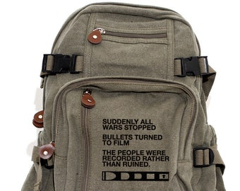 Film v. Bullet - Lightweight Canvas Backpack