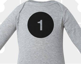 1st Birthday - Long Sleeve Shirt