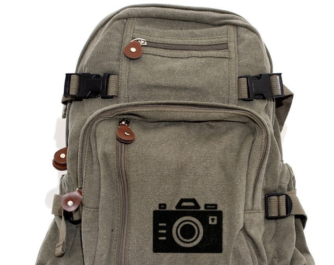 Featured listing image: Iconic Camera - Lightweight Canvas Backpack