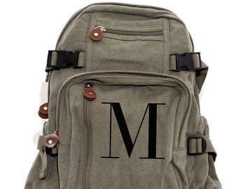 Personalized Backpack, Monogrammed Backpack, Backpack, Backpack Kids, Canvas Backpack, Small Backpack, School Backpack, Backpack Men