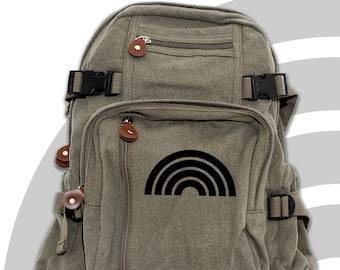 Rainbow - Lightweight Canvas Backpack