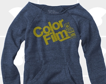 Color Film - Women's Slouchy Sweatshirt