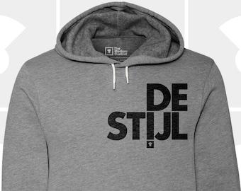 DE STIJL Typography Hoodie