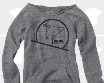 Chairlift - Women's Slouchy Sweatshirt
