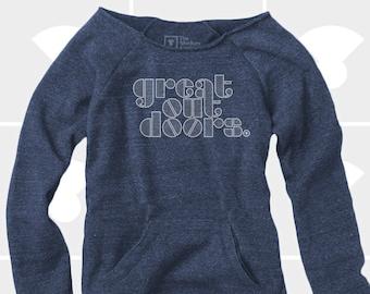 Great Outdoors - Women's Slouchy Sweatshirt