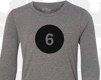 6th Birthday - Long Sleeve Shirt