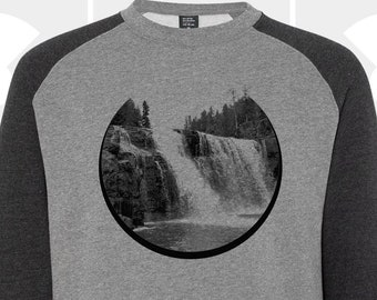 Crew Neck Sweatshirt - Waterfall