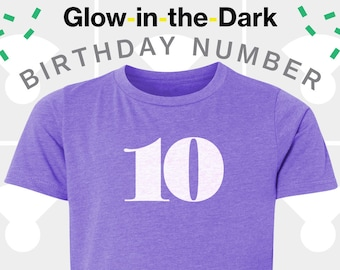 10th Birthday Shirt - Boys & Girls Unisex