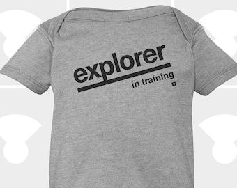 Explorer In Training - Baby Onesie