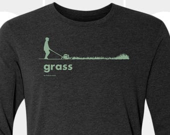 Grass - Unisex Long Sleeve Shirt