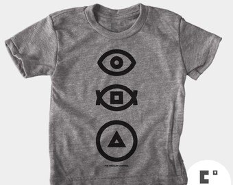 Shapes - Boys and Girls Unisex TShirt