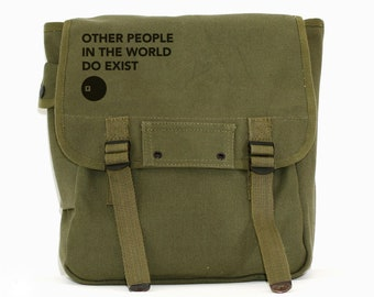 Other People - Simple Canvas Backpack