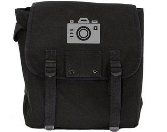 Camera - Basic Canvas Backpack