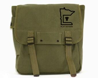 Minnesota - Simple Canvas Backpack