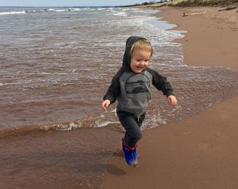 Canoe - Toddler & Youth Pullover Raglan Hoodie