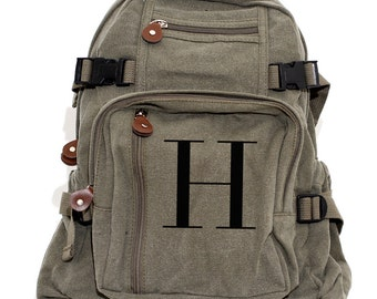 Monogram - Lightweight Canvas Backpack