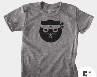 Kung Fu Watson the Cat - Boys & Girls Unisex TShirt