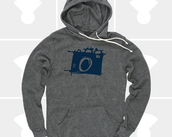 CAMERA Pullover Hoodie | Sketch Camera Fleece Sweatshirt | Unisex | Photographer Gift | Gift for Men | Film | Men & Women Hoodie