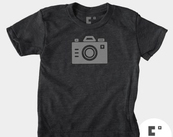 Iconic Camera Shirt - Boys & Girls Unisex TShirt