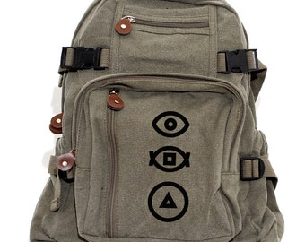 Bauhaus Transition - Lightweight Canvas Backpack