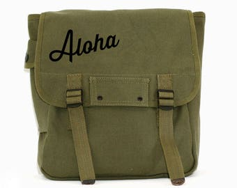 Aloha - Simple Canvas Backpack