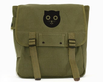 Watson the Cat - Simple Canvas Backpack