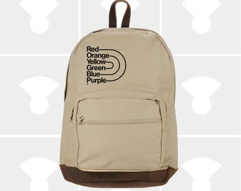 Gay Pride - Leather Bottom Laptop Backpack