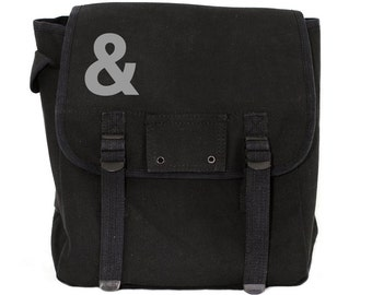 Ampersand - Simple Canvas Backpack