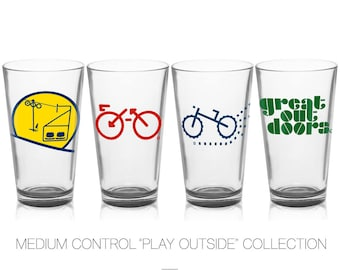Outdoors Collection - Pint Glass Set