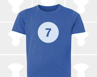 7th Birthday Shirt - Boys & Girls Unisex TShirt