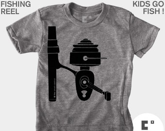 Fishing Reel - Boys & Girls Unisex Shirt