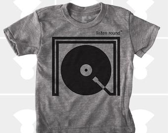 Listen Round - Boys & Girls Unisex Tshirt