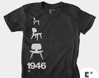Eames Chair 1946 - Boys & Girls Unisex TShirt