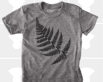 Fern: Fern Shirt, Botanical Shirt, Kids Fern T-Shirt