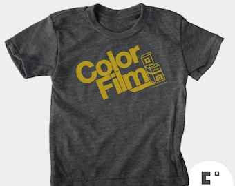 Color Film - Boys and Girls Unisex Tshirt
