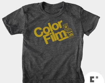 Color Film - Boys and Girls Unisex Tshirt