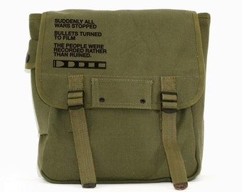 Film v Bullet - Simple Canvas Backpack