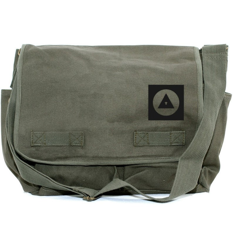 17484536b5 Messenger Bag Bauhaus Eye Men   Women Crossbody Large Canvas