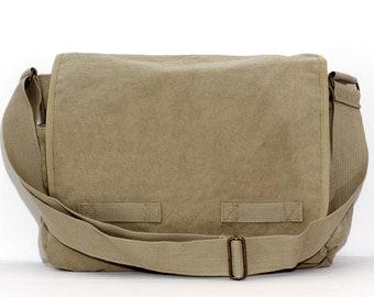 Canvas Messenger Bag - Custom Messenger Bag - Men & Women's Messenger Bag - Personalized Bag - Personalized Gift