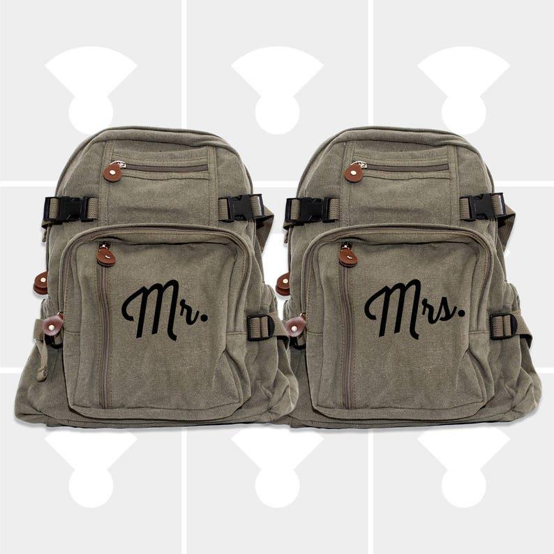 0d14eba83a6 Mr and Mrs Personalized Wedding Gift Honeymoon Luggage Mr | Etsy