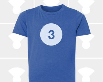 3rd Birthday Shirt - Boys & Girls Unisex TShirt