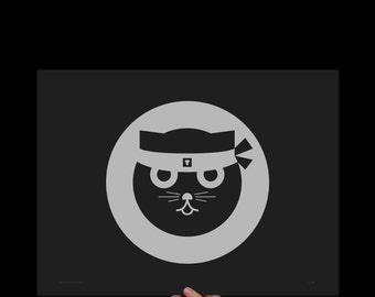 Print: Kung Fu Watson the Cat (Print & Poster)