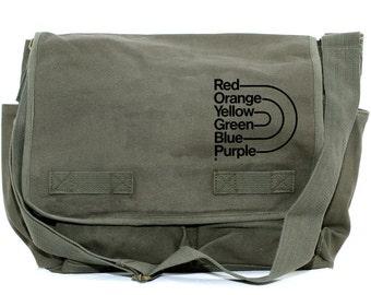 Messenger Bag | Rainbow PRIDE | Gift for Women | Camera Bag | Crossbody Bag | Travel | Large | Pride Gift | Gift for Men | Gay | Lesbian