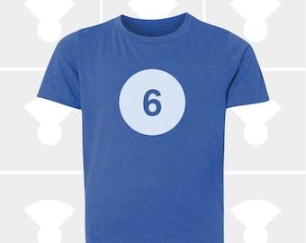 6th Birthday Shirt - Boys & Girls Unisex TShirt