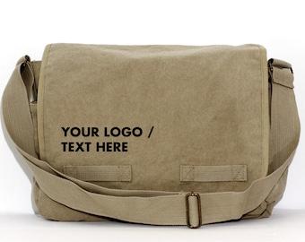 Personalized Bag - Groomsmen Gift - Messenger Bag - Shoulder Bag - Personalized Groom Gift