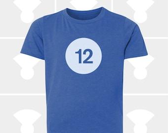 12th Birthday Shirt - Boys & Girls Unisex TShirt